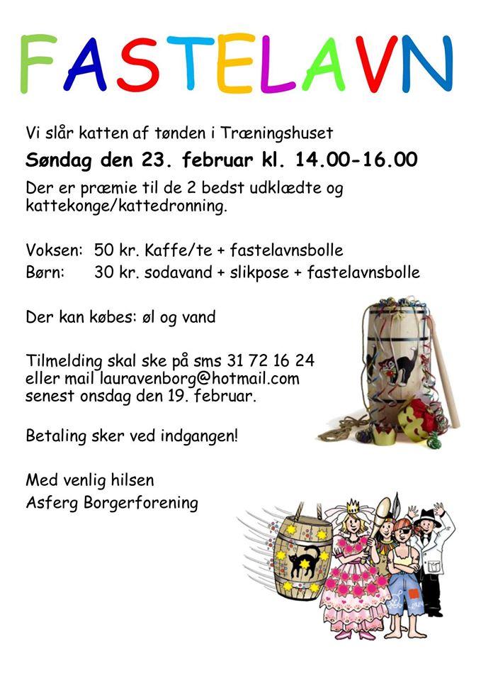 Fastelavn @ Træningshuset Asferg